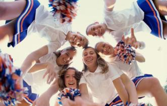 Cheerleading Camps hosted at Camp Deep Creek