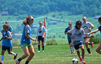 Soccer Camps hosted at Camp Deep Creek