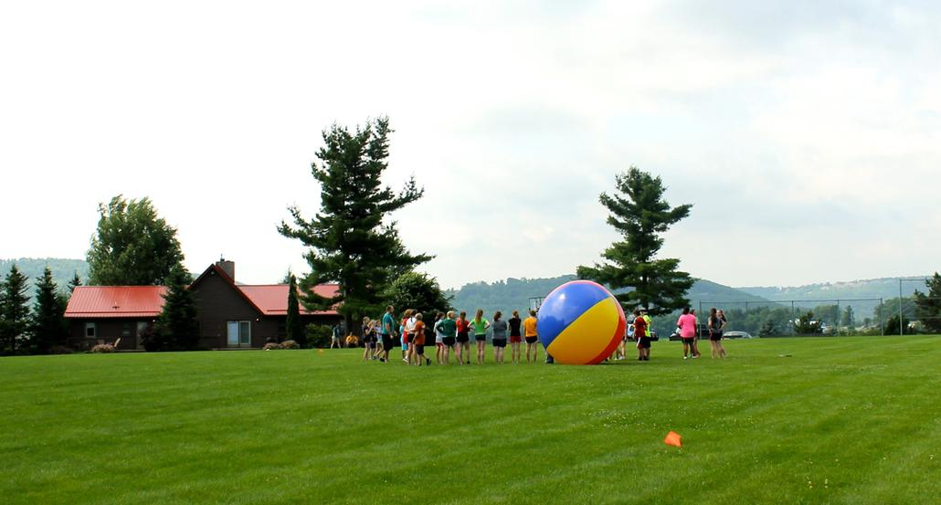 Fun and games at Camp Deep Creek