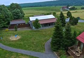 OUTDOOR GAMES (TETHER-BALL, HORSESHOES, LADDER TOSS, AND MORE!) at Camp Deep Creek