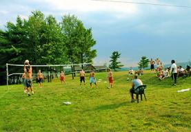 Volleyball at Camp Deep Creek
